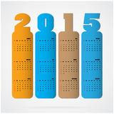 Creative happy new year 2015 text Design Stock Photography