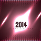 Creative happy new year. Creative vector 2014 happy new year design Royalty Free Stock Image