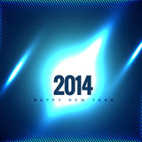 Creative happy new year. Vector 2014 creative greeting design Stock Illustration
