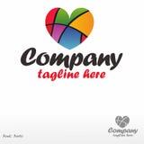 Сreative heart Stock Image