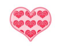 Creative heart icon Royalty Free Stock Photos