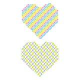 Creative heart shape design Stock Image