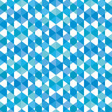 Creative hexagone pattern background.  Royalty Free Stock Photo