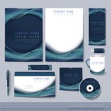 Creative hi-tech background for corporate identity Stock Image