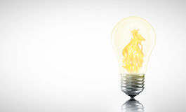 Creative Hot ideas may be you Royalty Free Stock Images
