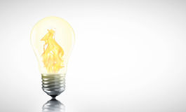 Creative Hot ideas may be you. Royalty Free Stock Photography
