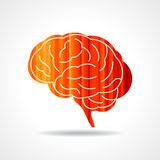 Creative Human brain  Royalty Free Stock Photography