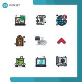 9 Creative Icons Modern Signs and Symbols of play, gaming, the, game, prayer