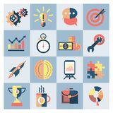 Creative icons set Stock Photos