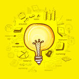 Creative idea business infographic layout. Royalty Free Stock Images