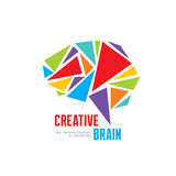 Creative idea - business vector logo template concept illustration. Stock Photo