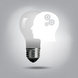 Creative idea concept Stock Image