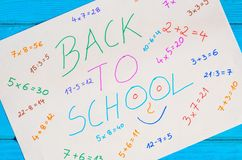Creative idea depicting the return of children to school.