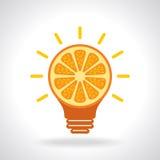 Creative idea for health, icon Royalty Free Stock Image