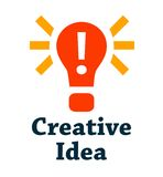 Creative idea icon Royalty Free Stock Image