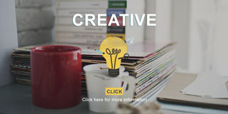 Creative Ideas Creativity Think Outside the Box Concept Royalty Free Stock Photos