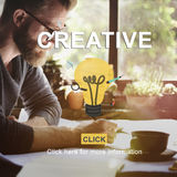 Creative Ideas Creativity Think Outside the Box Concept Royalty Free Stock Images
