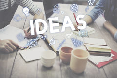 Creative Ideas Design Imagination Innovation Concept royalty free stock photos