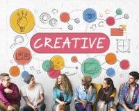 Creative Ideas Design Inspiration Imagination Concept Stock Image
