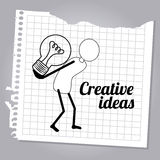 Creative Ideas Stock Photo