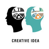 Creative Ideas Royalty Free Stock Images