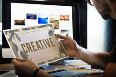 Creative Ideas Imagination Inspiration Leaf Nature Concept stock photos