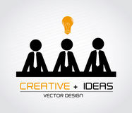 Creative ideas Royalty Free Stock Photography