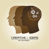 Creative ideas Stock Photography