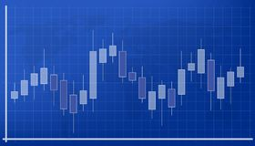 Creative  illustration of forex trading diagram signals isolated on background. Buy, sell indicators with japanese candles p. Attern, exchange financial market Stock Photos