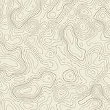Creative illustration of topographic map. Art design contour background. Abstract concept graphic element and geography scheme. stock photo