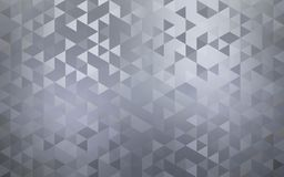 Abstract geometric mosaic background. Metal shapes texture. royalty free illustration