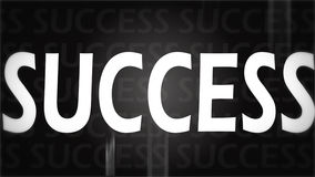 Creative image of black success Stock Image