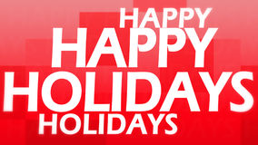 Creative image of happy holidays Stock Photo