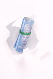 Creative image for one Malaysian Ringgit Royalty Free Stock Photos