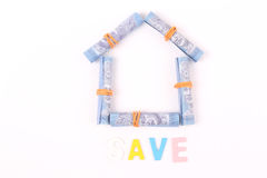 Creative image for one Malaysian Ringgit Royalty Free Stock Images