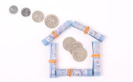 Creative image for one Malaysian Ringgit Royalty Free Stock Photo