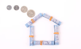 Creative image for one Malaysian Ringgit Stock Photo
