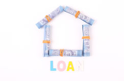 Creative image for one Malaysian Ringgit Stock Photography