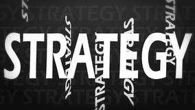 Creative image of strategy Royalty Free Stock Image