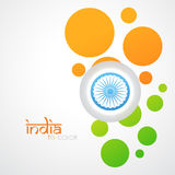 Creative indian flag Stock Images