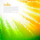 Creative indian flag Royalty Free Stock Photography