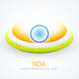 Creative indian flag. Creative style indian flag vector design stock illustration