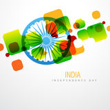 Creative indian flag Stock Photography