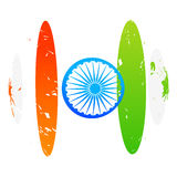 Creative indian flag design Royalty Free Stock Photography