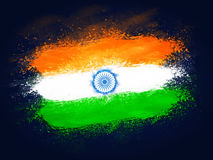 Creative Indian Flag design for Independence Day. Royalty Free Stock Photography