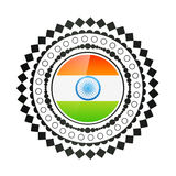 Creative indian flag design Royalty Free Stock Photo