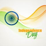 Creative Indian Independence Day concept. Vector Stock Image