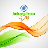 Creative Indian Independence Day concept. Vector Royalty Free Stock Photography