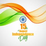 Creative Indian Independence Day concept. Vector Stock Images