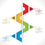 Creative info-graphics Stock Photo